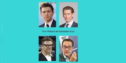 Das sind die Hollywood-Doppelgänger der Ära Türkis/Blau