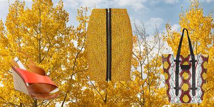 Wie man Herbstfarben im Frühling trägt