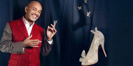 Disney & Louboutin enthüllen Cinderella-Schuh