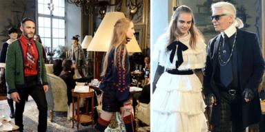 Chanel Metiers d'Art Collection 2014/15 Paris Salzburg