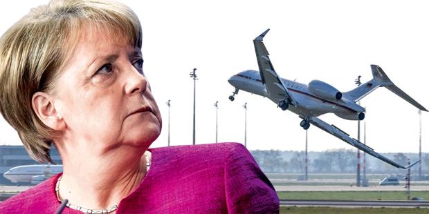 Totalschaden an Merkels Kanzlerjet