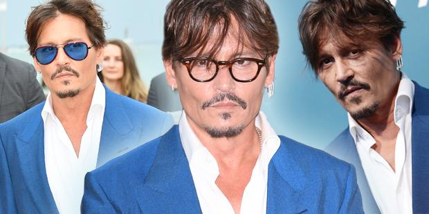 Johnny Depp als Hingucker in Venedig