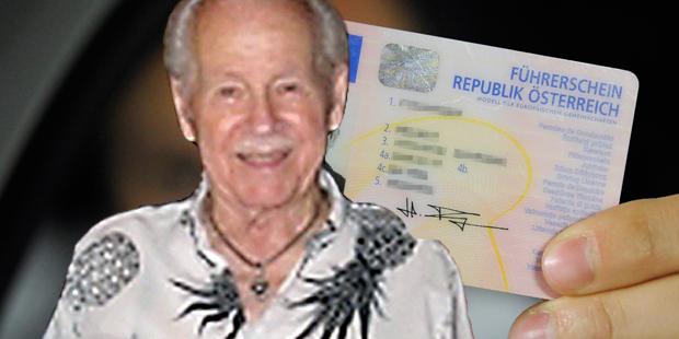 92-Jähriger mit Prothese bestand Führerschein