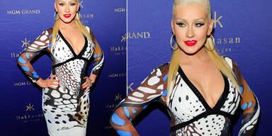Heißes Dekolleté, Miss Aguilera!