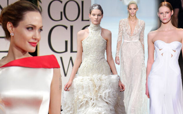 Wer designt Angelinas Brautkleid?