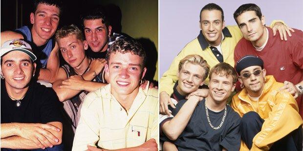90er-Boybands nehmen Song auf