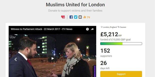 London-Terror: Muslime spenden Geld