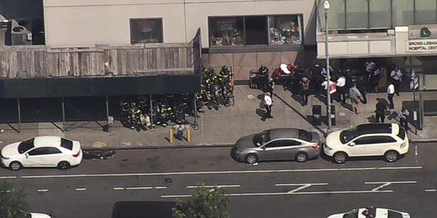 Eine Tote bei Angriff in New Yorker Krankenhaus