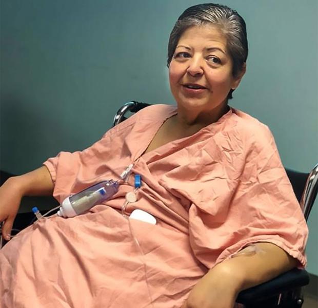 Ärzte entfernen 34 Kilo-Tumor bei einer Frau