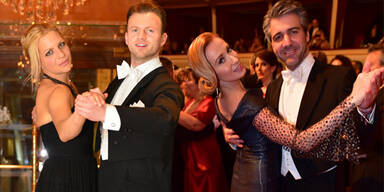 Die ÖSTERREICH-Sieger Herbert Velden & Bernadette Pachler am Opernball