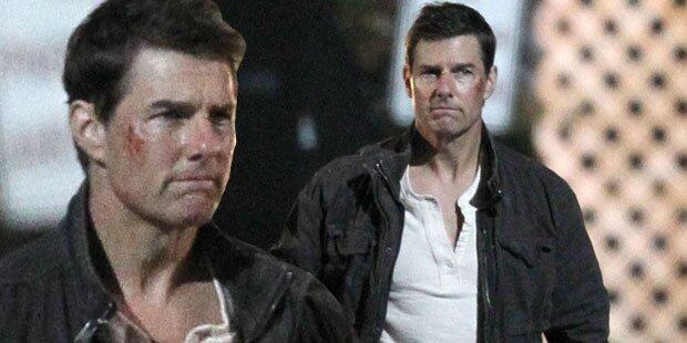 Tom Cruise, wer hat denn dich verprügelt?
