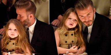 Beckhams: Familienausflug zur Fashion-Show