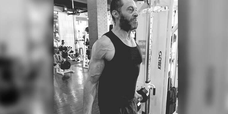 """Jackman trainiert für letzten """"Wolverine"""""""