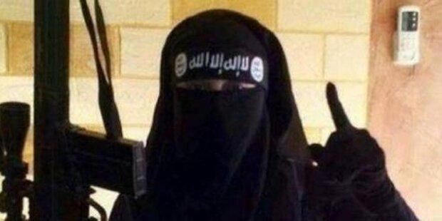 ISIS-Kämpferin