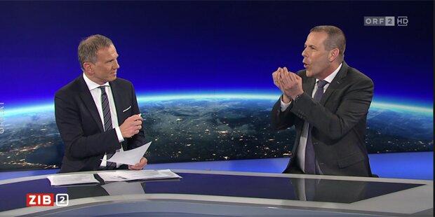 Eklat live im ORF: Vilimsky droht Wolf mit 'Folgen'