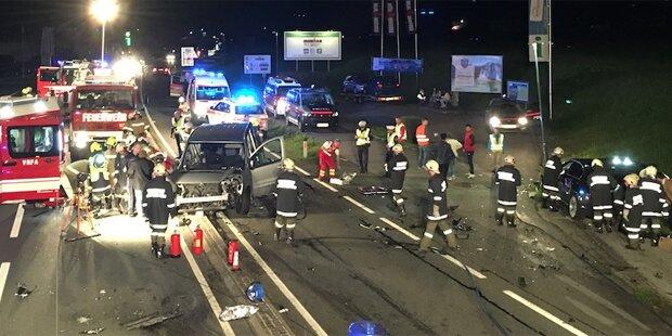 Urlauber wendet trotz Sperrlinie: 9 Verletzte