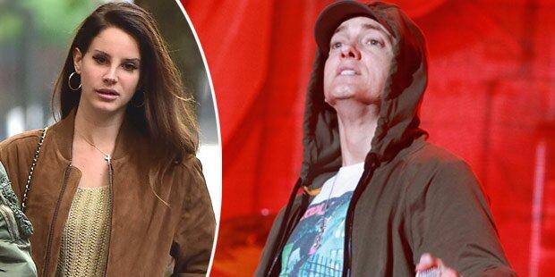 Eminem droht Lana Del Rey mit Prügel