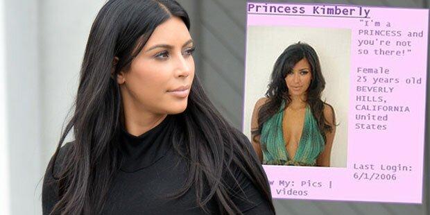 Kim Kardashians peinliche MySpace-Seite