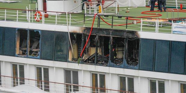 Brand auf Donauschiff: Darum brach das Feuer aus