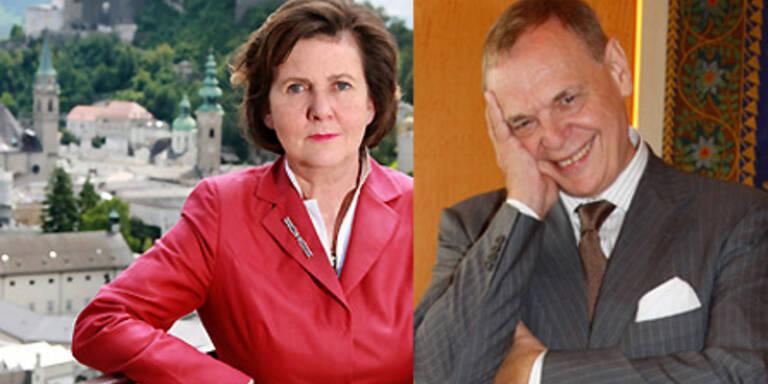 Rabl-Stadler und Pereira teilen Verantwortung.