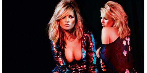 Kate Moss: Heiße Linie für Weihnachten