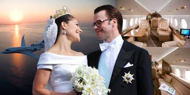 Victoria: Hochzeitsnacht in Luxusjet