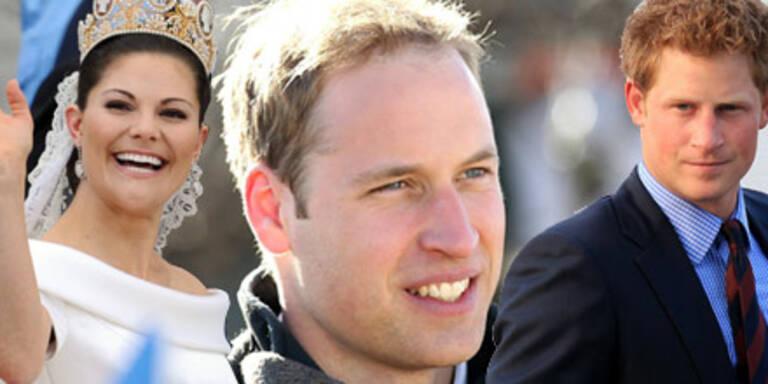Die heißesten Royals der Welt - Prinz William, Harry, Prinzessin Victoria