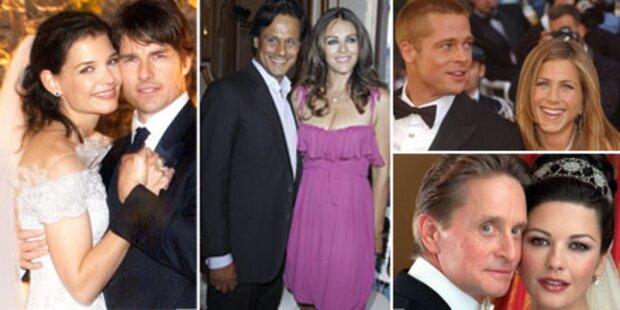 Die teuersten Star-Hochzeiten der Welt