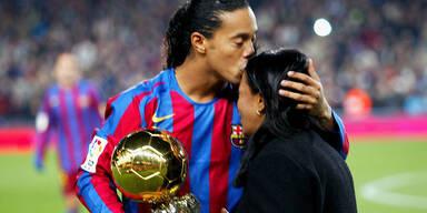 Ronaldinho trauert um verstorbene Mutter