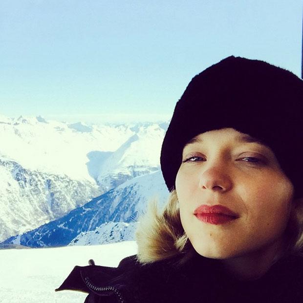 Léa Seydoux in Sölden