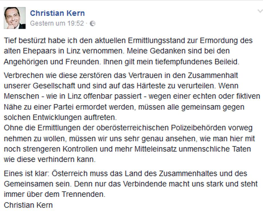 Kern Hassmord Linz