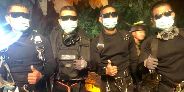 Höhlendrama Höhle Tham Luang Thailand Taucher