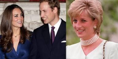 Ihre erste Tochter soll Diana heißen