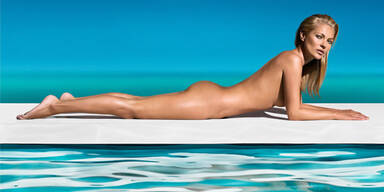 Kate Moss modelt nackt für Selbstbräuner