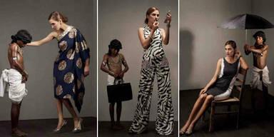 Sklaverei-Modestrecke sorgt für Debatte