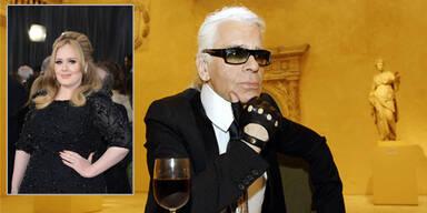 Lagerfeld verteidigt seinen Adele-Diss