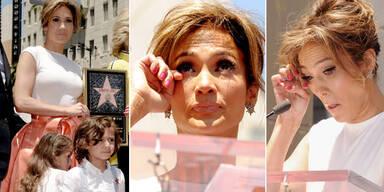 Jennifer Lopez: Stern am Hollywood Walk of Fame