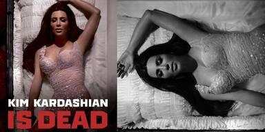 Kim Kardashian ist tot: Schock-Bild zum Weltaidstag