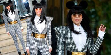 Lady Gaga als modebewusste Micky Maus