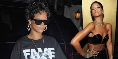 Rihanna baut 3 Zimmer zu begehbaren Kleiderschränken um