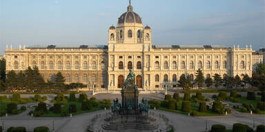 Das Kunsthistorische Museum in Wien