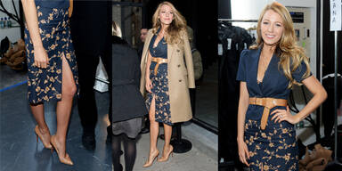 Blake Lively bei der Fashion Week NY 2014
