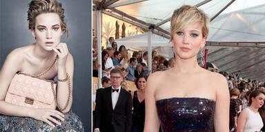 Jennifer Lawrences neue Dior-Kampagne