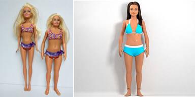 So würde Barbie mit realistischen Proportionen aussehen