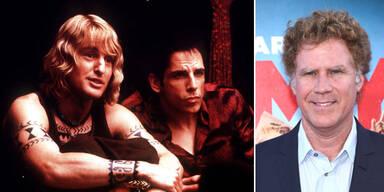 Zoolander: Owen Wilson & Ben Stiller; Will Ferrell