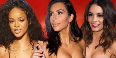 Rihanna, Kim Kardashian, Vanessa Hudgens