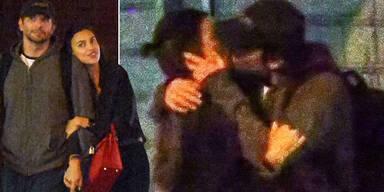 Bradley Cooper knutscht mit Irina Shayk