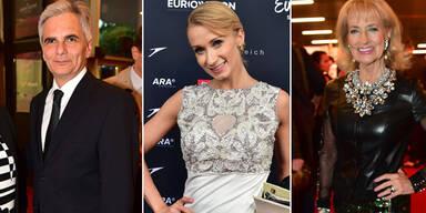 Song Contest 2015: Die Austro-Promis fieberten mit