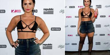 Demi Lovato im Porno-Look