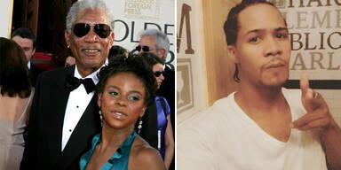 Morgan Freeman & E'dina Hines; Lamar Davenport